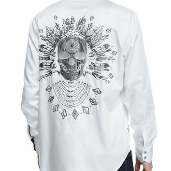 Robert Graham shirt - Sacred City white