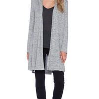 Riller & Fount Giovani Cardigan in Gray