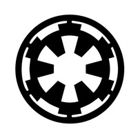 Star Wars Galactic Empire Vynil Car Sticker Decal Any Corlor