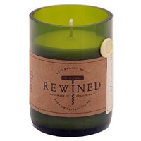 "REWINED ""CHAMPAGNE"" RECYCLED WINE BOTTLE CANDLE"