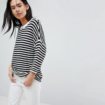 Noisy May Striped Top at asos.com