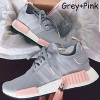 ADIDAS NMD Fashion Women Men Casual Running Sport Shoes Sneakers