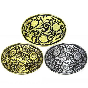 Three Colors Belt Buckle