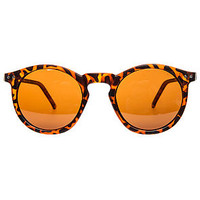 The TimTim Sunhater Polarized Sunglasses in Brown Tortoise