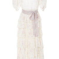 Roxanne Tiered Ruffle Maxi Dress | Moda Operandi