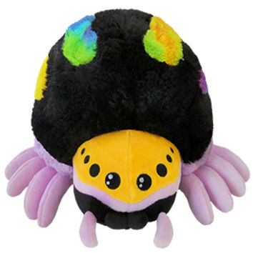 Mini Squishable Rainbow Jumping Spider