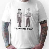 "Dean/Cas: ""You Dropped These"" Unisex T-Shirt"
