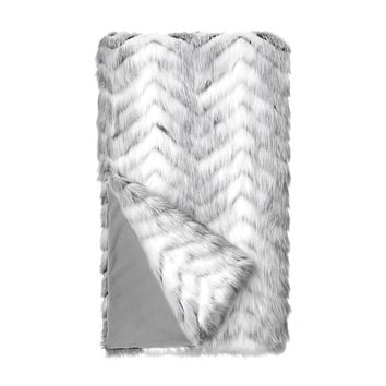 Crystal Fox Throw Blanket