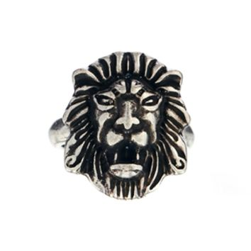 Afends Lion Ring - Silver