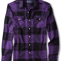 American Rag Shirt, Rio Flannel Long Sleeve Shirt