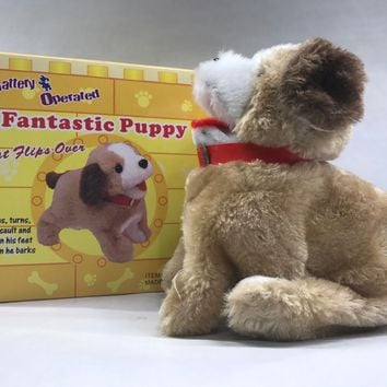 "Fantastic Puppy Flip Over Battery Operated 8"" SK-898 new"