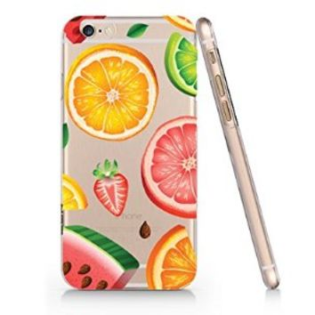 Watermelon Lemon Iphone 6 case, Iphone 6 Case Slim White Cover Skin (4.7'' Screen) Quindyshop (LA066)