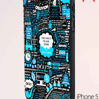 The Fault In Our Stars John Green Quote iPhone 5 Case