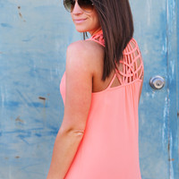 That Night In March Tank {Coral}