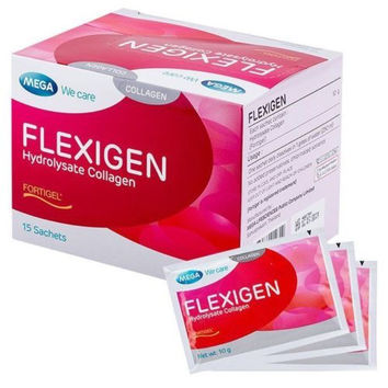 Mega We Care Flexigen 10000 IU Collagen Drink Mix for Beautiful Skin and Nails
