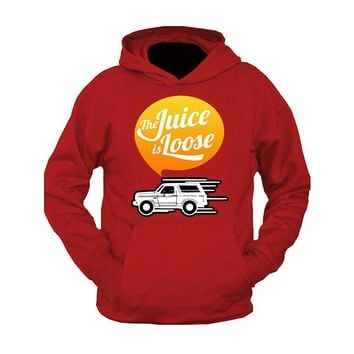 OJ Simpson Hoodie The Juice Is Loose Hooded Sweatshirt