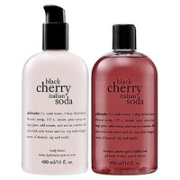Philosophy Black Cherry Italian Soda Body Collection: Shop Bath | Sephora