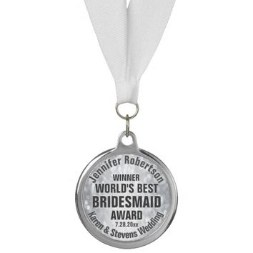 Custom Wedding Thank You Gift Medal