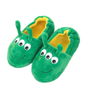 Children Cartoon Bag Heel Cotton Slippers Indoor Slippery Floor Slippers Warm WMC102
