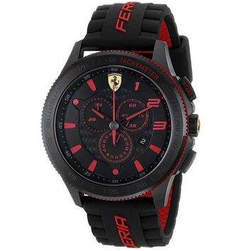Ferrari Men's 0830138 Scuderia Ultraveloce Silicone band Watch