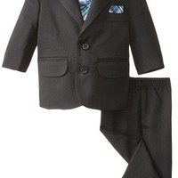 Nautica Baby Boys' Herringbone Suit Set
