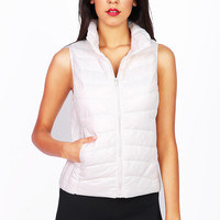 Puffy Zip Down Vest