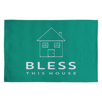 Allyson Johnson Bless This House Woven Rug