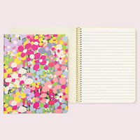 kate spade new york Floral Dot Concealed Spiral Notebook