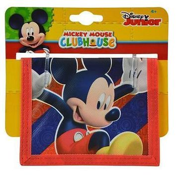Party Favors Disney Mickey Mouse Bifold Wallet- 6 Pack