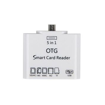 5 in 1 OTG Micro USB Card Reader for smartphone
