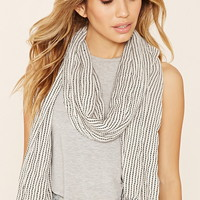 Frayed Stripe Scarf