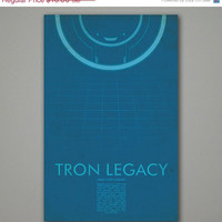 SALE 5 off Tron Legacy Movie Poster 11x17 by balancedpersonality