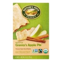 Natures Path Toaster Pastries, Frosted Granny Apple Pie, 1.83 Oz, 6 Count - Walmart.com