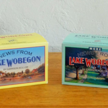 Vintage News From Lake Wobegon By Garrison Keillor - Cassette Collection