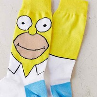Homer Sock- White One