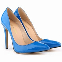 Pointed Toe High Heels Women Pumps Shoes