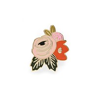 Rifle Paper Co Rosa Enamel Pin