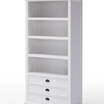Halifax Bookcase White semi-gloss