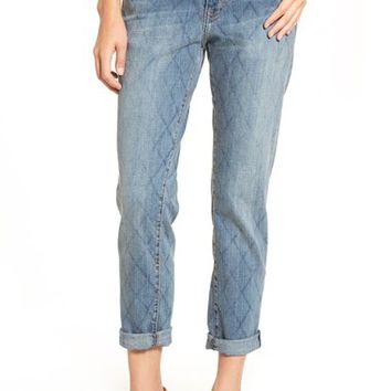Current/Elliott 'The Stiletto' Ankle Relaxed Skinny Jeans (Quilter) | Nordstrom