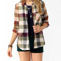 Colored Buffalo Plaid Shirt