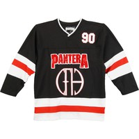 Pantera Men's  Hockey Jersey Black