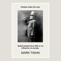 Art print, Mark Twain, quote, 3, black and white, poster, dorm decor, graphic, writer, literary, inspirational, wall, art prints & posters