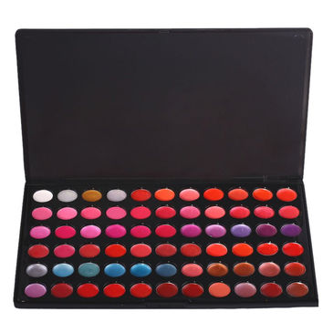Cosmetic 66 Colours Lip Gloss Palette