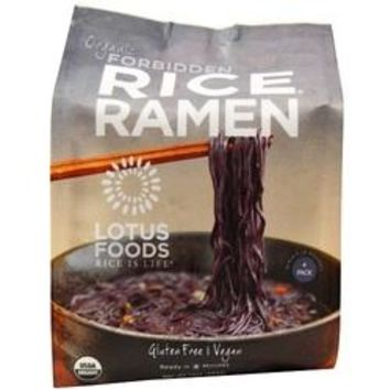 Lotus Foods Organic Rice Ramen Noodles Forbidden Rice (6x10 OZ)