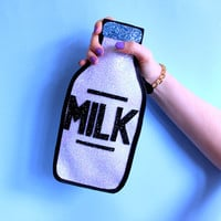 Glitter Milk Bottle Clutch Handbag - LIMITED EDITION