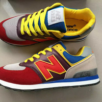 """""""New Balance"""" Fashion Casual N Words Breathable Unisex Sneakers Couple Running shoes"""