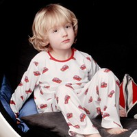 Boys Crew Neck Pyjamas Mini Cooper Print 100% Cotton at Pixie Dixie