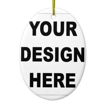 Create Your Own Custom Ceramic Ornament