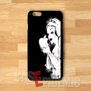 Snow White BW - Fzi for iPhone 6S case, iPhone 5s case, iPhone 6 case, iPhone 4S, Samsung S6 Edge