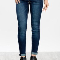 wannabettabutt heavy stitch roll-up skinny jean